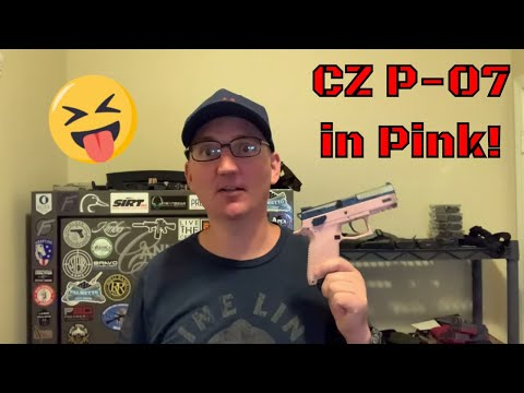 CZ P-07 9mm Pistol Unboxing and Full Review - The Pink Wonder (2020)