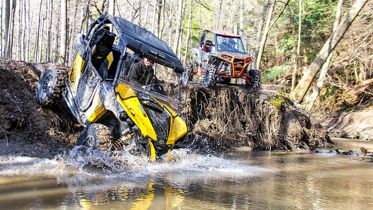 Stunningly Scenic Sxs Atv Trail Ride In Ontario Yours To Discover Polaris Can Am Off Road Youtube