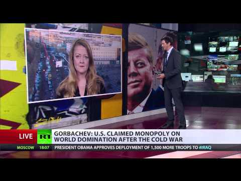'Ironically Russia is playing peacemaker in face of US warmongering'