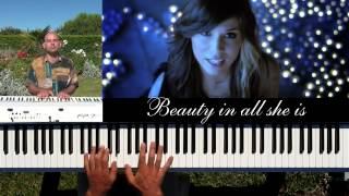 A Thousand Years (Christina Perri) - piano & drum accompaniment with lyrics