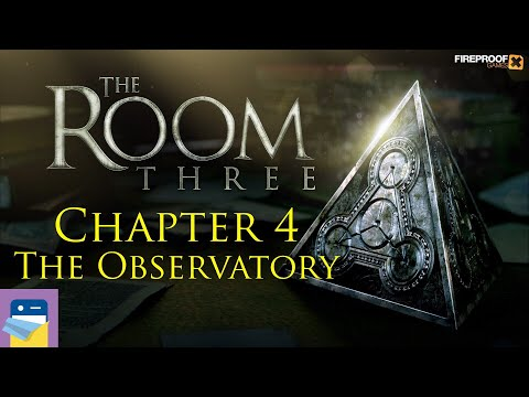 The Room Three (3): Chapter 4 COMPLETE Walkthrough The Observatory & iOS Gameplay (Fireproof Games)