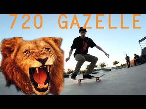 LION FLIP (Fakie 720 Gazelle flip) | Nick Holt Trick Challenge
