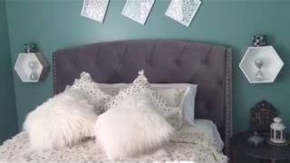 جولة في غرفة النوم ،صغيرة و بسيطة ،تزيين غرفة النوم بلمسة مغربية تقليدية و باقل تكلفةroom tour