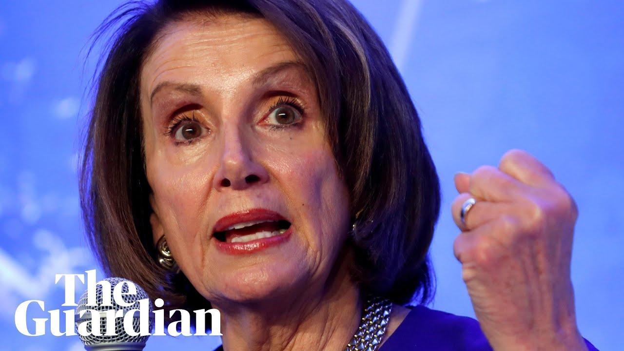 Real v fake: debunking the 'drunk' Nancy Pelosi footage - video