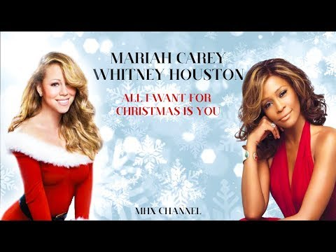 Mariah Carey Ft Whitney Houston - All I Want For Christmas Is You ( Unreleased Version )