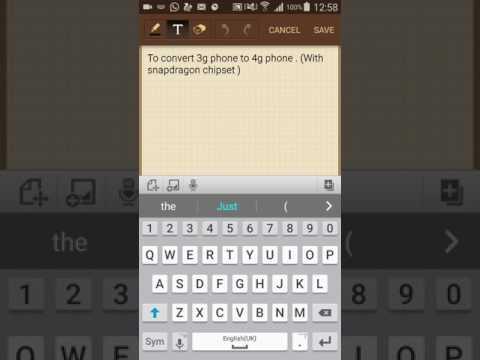 Convert 3g phone to 4g(LTE)., working 100%. Use jio sim in 3g phones