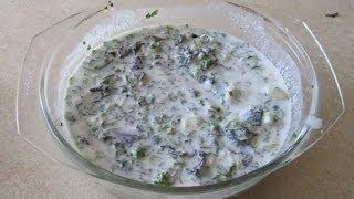 Супы рецепты. Окрошка рецепт на заквашенном молоке (окрошка на кефире)