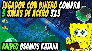 Jugador con dinero compra 3 salas de ACERO | Luis_V7 | LAST DAY ON EARTH: SURVIVAL