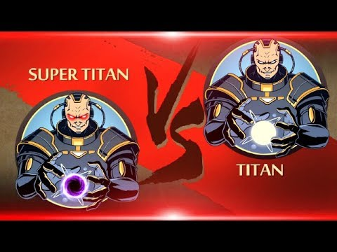 Shadow Fight 2 Super Titan Vs Titan