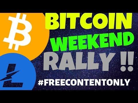 🌟BITCOIN and LITECOIN WEEKEND RALLY🌟, litecoin bitcoin price prediction, news, trading