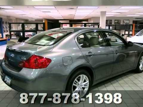 2012 Infiniti G37 Sedan St Paul White Bear Lake Mn 67547p Sold