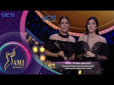 Raisa – Isyana Sarasvati | Pemenang Kategori Duo / Grup Soul / RnB / Urban Terbaik | AMI AWARDS 20th