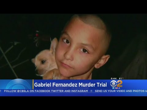 Murder Trial In Boy