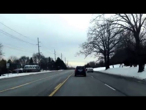 Driving from West Bloomfield, MI to Detroit, Michigan