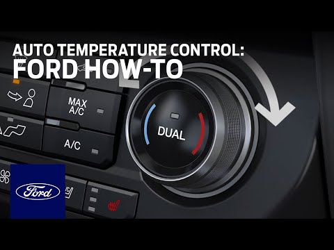 F-150 Dual-Zone Electronic Automatic Temperature Control | Ford How-To | Ford