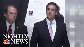 Michael Cohen Pleads Guilty, Says He Paid Hush Money At Donald Trump's Direction | NBC Nightly News