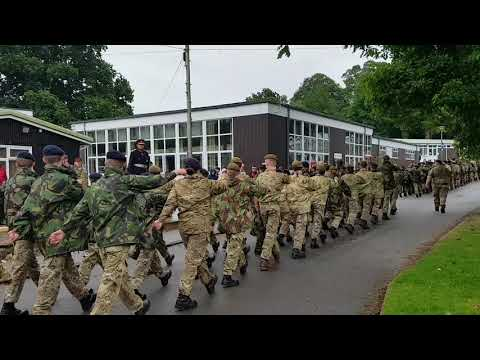 Staffordshire ACF March Past (Warcop 2017)