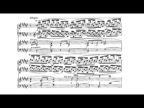 Sergei Rachmaninoff ‒ Piano Concerto No.1, Op.1