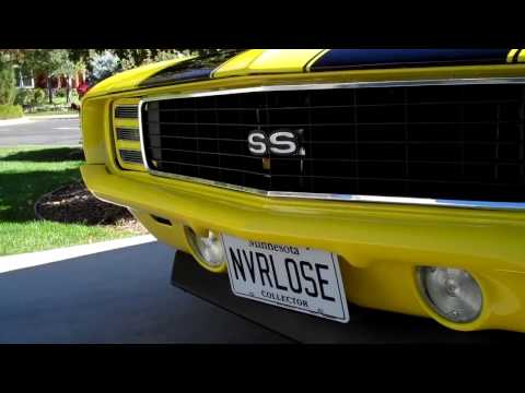 1969 Camaro RS SS 496 big block