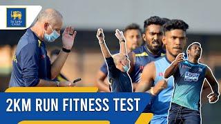 2km Run fitness test