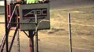 Boothill speedway Factory stock A feature king of the hill