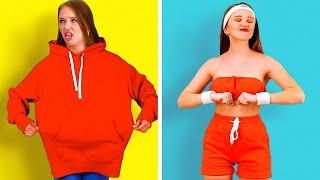 حيل مفيدة للملابس لأزياء الصيف! || تحديثات رائعة للملابس