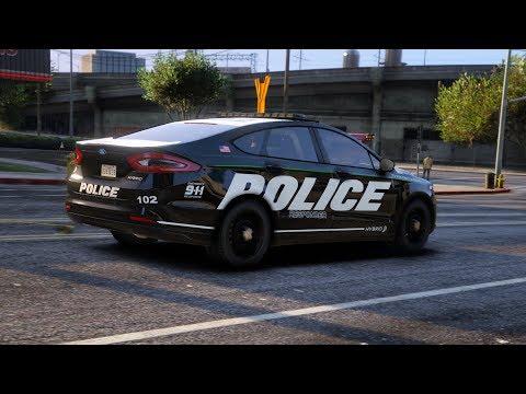 LSPDFR - Day 520 - Ford Police Responder Hybrid Sedan
