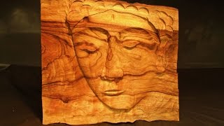 Easy Wood Carving Project - Diy Create This Stunning Face Carving Wall Art