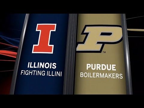 Illinois at Purdue - Football Highlights