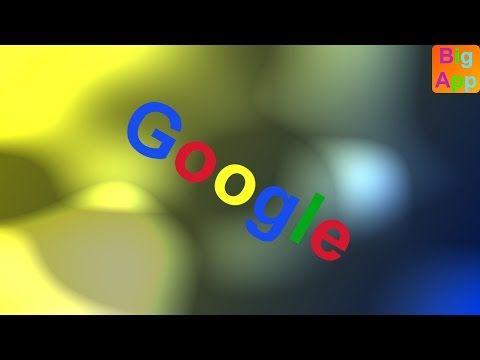 Google - Easter egg: Blink HTML