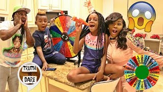 Spin the MYSTERY Wheel Challenge w/ PANTON KIDS!! 1 Spin = 1 Dare TRUTH OR DARE