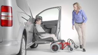 Wheelchair transfer to car seat