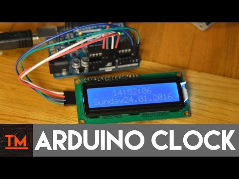 Arduino Realtime Clock || Ds1302 || TechMaker
