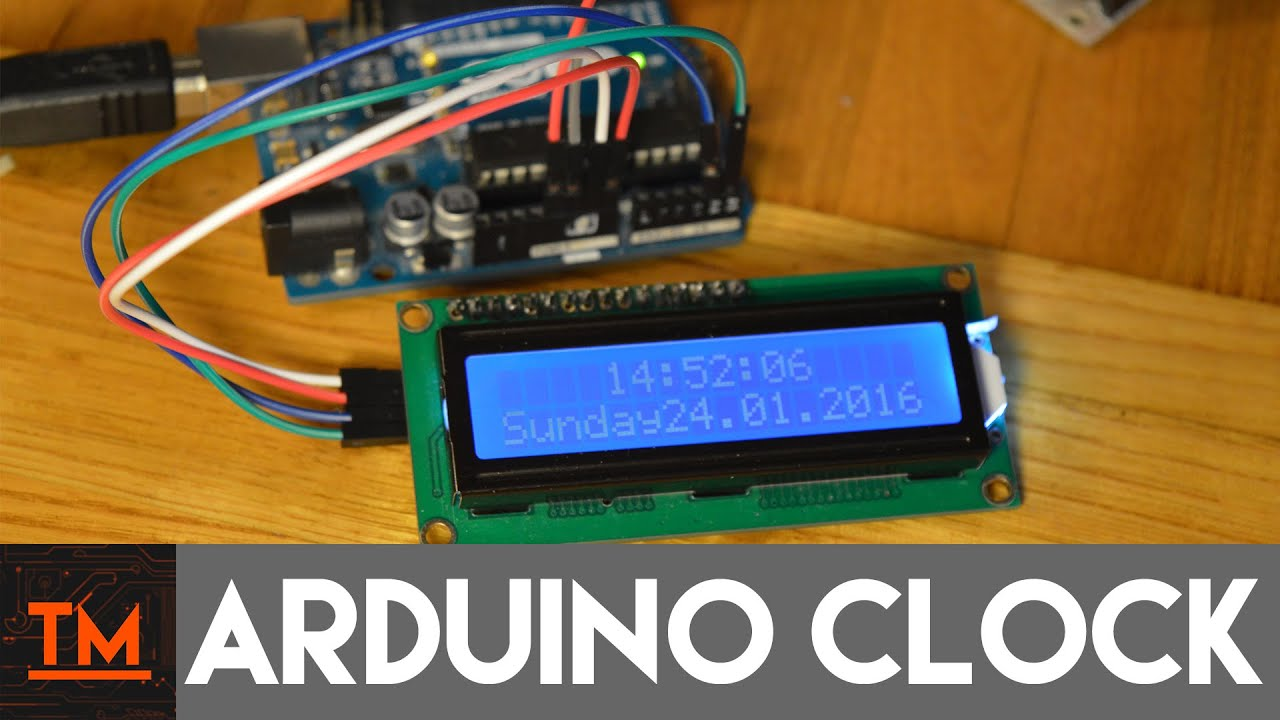 Arduino Ds3231 Rtc Clock With Lcd And Real Time Circuit Schematics I2c Devices Diagram