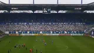 MSV Duisburg - FC Schalke 04  (Die Choreo)