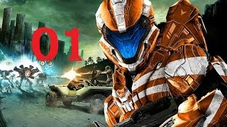 Halo Spartan Strike 01 Intro Tutourial und Mission A1 - [ Deutsch | German | Gameplay | Let's Play ]