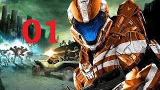 Halo Spartan Strike 01 Intro Tutourial und Mission A1 - [ Deutsch   German   Gameplay   Let