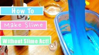 Cara Membuat Slime Tanpa Slime Act!
