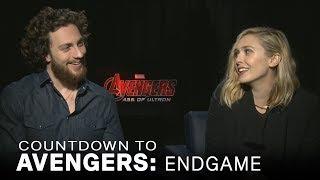 Johnson, Olsen Talk Teaming Up For 'Avengers: Age Of Ultron' | EXTENDED
