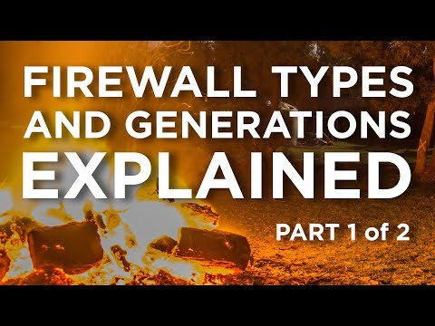 Firewall Types & Generations Explained – Part 1 of 2