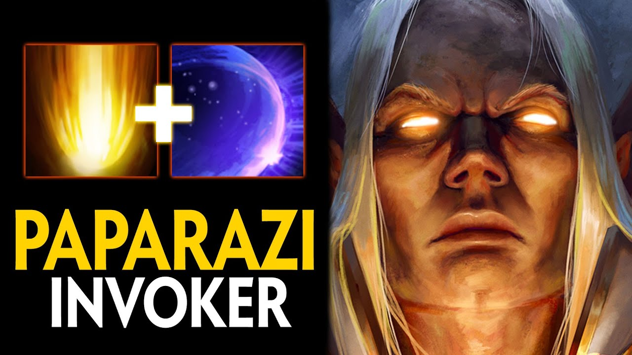 SOMNUS HAVE TO LEAVE MID FOR PAPARAZI INVOKER   EPIC 9100MMR GAME   Dota 2 Invoker