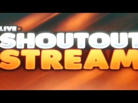 SHOUTOUT LIVE STREAM GET YOU'RE CHANNEL 1000 SUBS