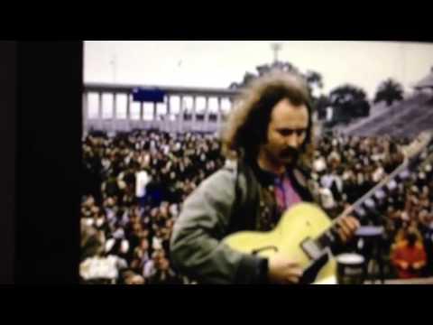RARE footage:  Crosby, Stills, Nash & Young - Balboa Stadium - 12-21-1969