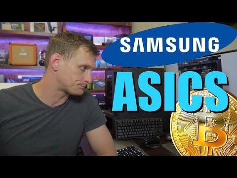 Samsung Confirms Making ASIC Chips For Mining Crypto