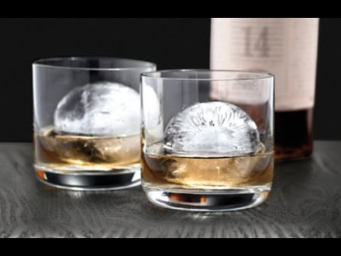 REVIEW:  Sphere Ice Cube Mold - Tovolo