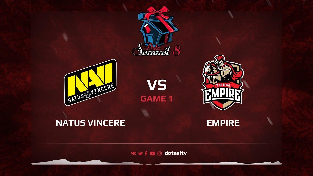 Natus Vincere против Team Empire, Первая карта, Квалификация на Dota Summit 8