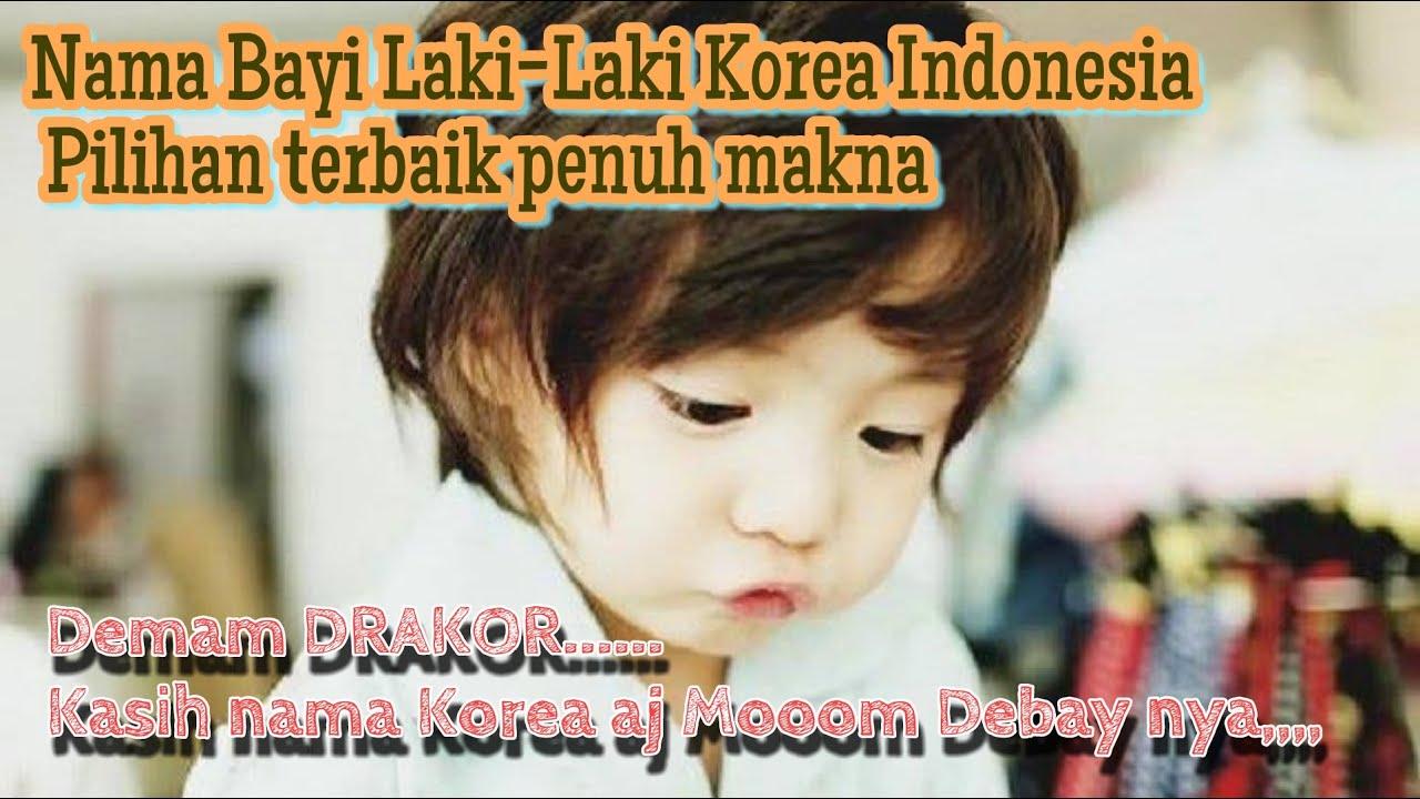 Demam DRAKOR moom,  Debay cowoknya kasih nama indonesia Korea aja Moomy
