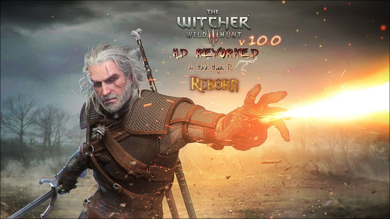 The Witcher 3 Hd Reworked Project 100 Reborn Release Preview