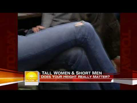 """Tall 6'4"""" woman and 5' man on Today Show"""