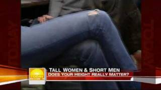 tall 64 woman and 5 man on today show